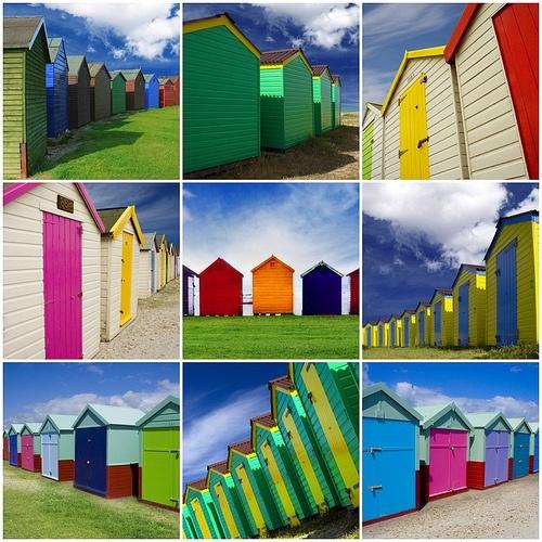 39 best beachy decor images on pinterest for Beach hut decor
