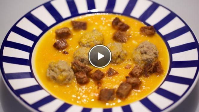 Knaloranje wortelsoep - De Makkelijke Maaltijd | 24Kitchen
