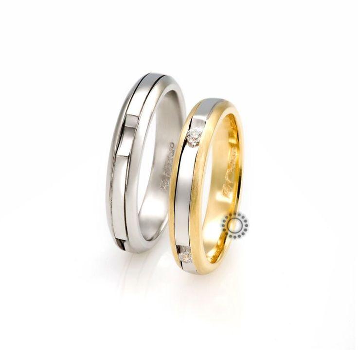 Βέρες γάμου FaCadoro 25Α/25Γ - Ένα πρωτότυπο σχέδιο από βέρες FaCadoro | Βέρες γάμου στο Κοσμηματοπωλείο ΤΣΑΛΔΑΡΗΣ στο Χαλάνδρι #βέρες #βερες #γάμου #facadoro #tsaldaris