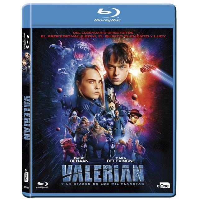 Valerian Y La Ciudad De Los Mil Planetas Blu Ray Carteles De Peliculas Peliculas De Disney Peliculas En Espanol