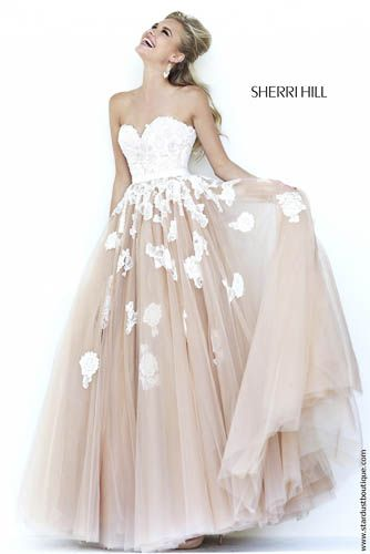 Stardust Prom Dresses Puffy