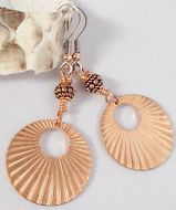 BOGO J Norahz Copper Hoops Artisan Earrings
