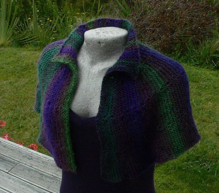 Capelet of Many Colours
