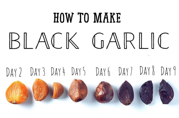 How to make Black Garlic at home