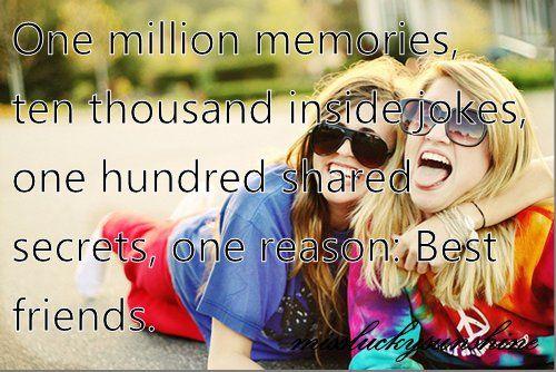 Best Friend Quotes For Girls   best friends, blue, girl, girls - inspiring picture on Favim.com