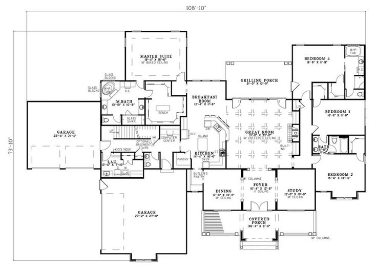 398 best Floor Plans images on Pinterest | House floor plans ... - luxury floor plans