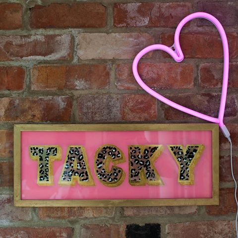 Happy Friday! #followfriday the lovely Georgia @tozersigns who reverse handpainted and gold leafed my new baby. She's pink and gold, she's glittery and leopardy and so perfectly tacky! Husband is going to hate her! Need to get my #fafffriday on to find the perfect spot for her! #sign #signpainting #reverseglass #pinkandgold #tacky #neon #goldleaf #gilding #leopardprint #interiors #Interiorstyle #Interiorinspo #interiorinspiration #interiordecor #interiors123 #instadecor #interiors4all…