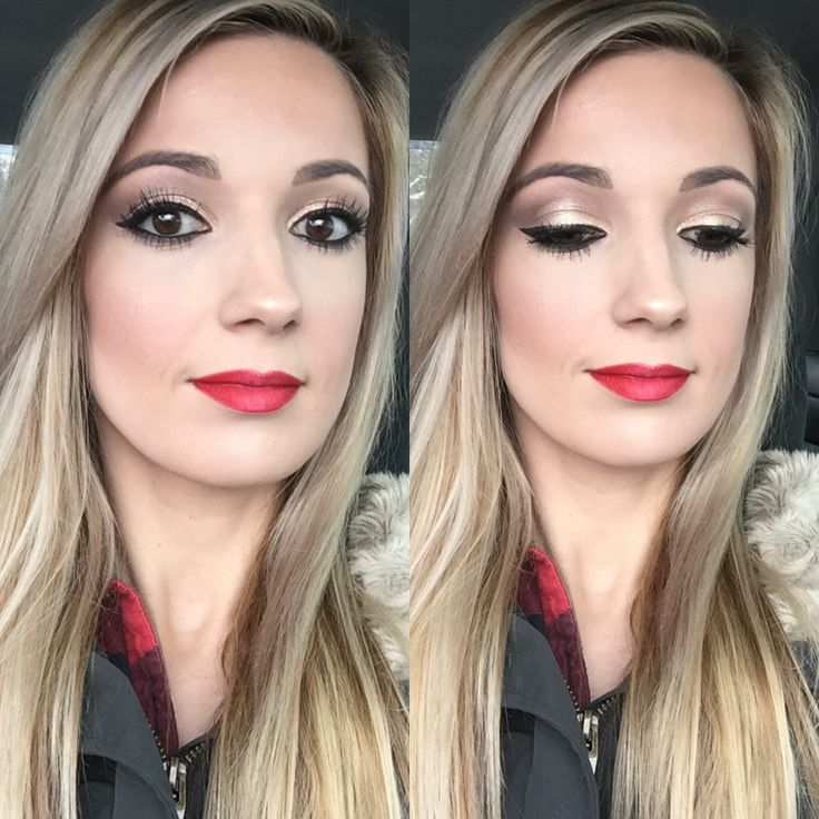 """Makeup Look Addiction """"1"""" palette """"brassy"""" on my lid, """"zealous"""" on my crease & """"elated"""" as highlight. """"Perfect"""" eyeliner on waterline and """"zealous"""" smoked right below. Blush """"sweet"""" & """"primal"""" lipliner with """"pristine"""" lipliner feathered in middle ❤️ Find your look at deesfabfaces.com"""