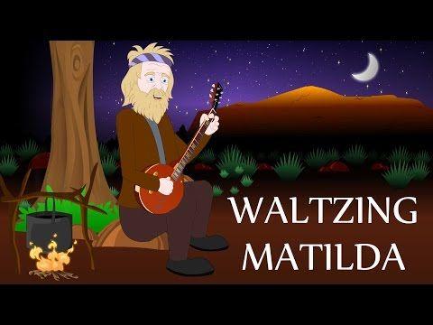 Waltzing Matilda | Australian Nursery Rhymes and Songs | Aussie Kids Songs - YouTube
