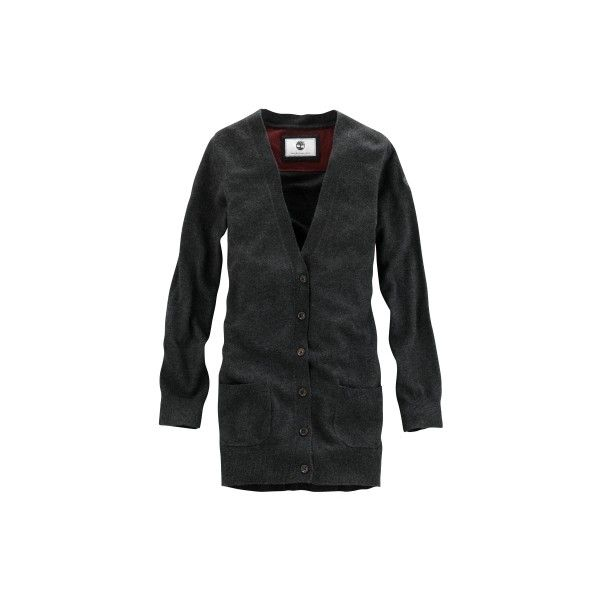 Timberland - Women's Wool/Cashmere V-Neck Cardigan (93 NZD) ❤ liked on Polyvore featuring tops, cardigans, cashmere cardigan, cashmere tops, wool cardigan, v neck cardigan and vneck cardigan