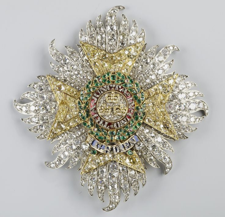 Star of the Order of the Bath, c. 1840-1, 92mm x 87mm, by Kitching & Abud, made for Prince Albert, consort of Queen Victoria.