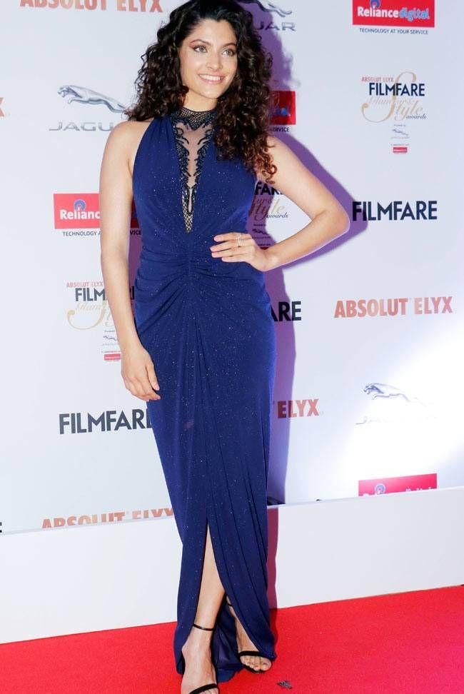 Saiyami Kher at the Filmfare Glamour & Style Awards 2016. #Bollywood #Fashion #Style #Beauty #Hot #Sexy