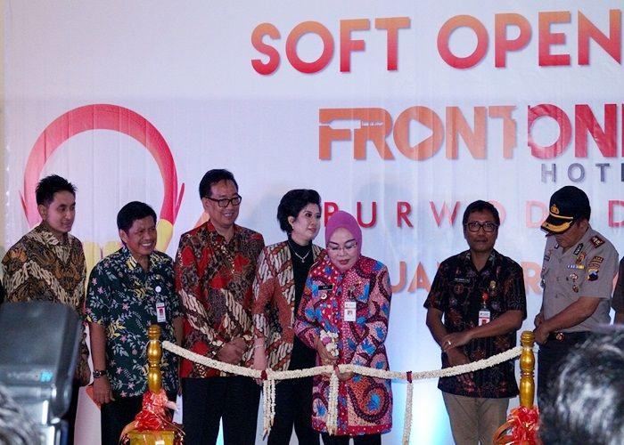 Soft Opening Front One Hotel Purwodadi