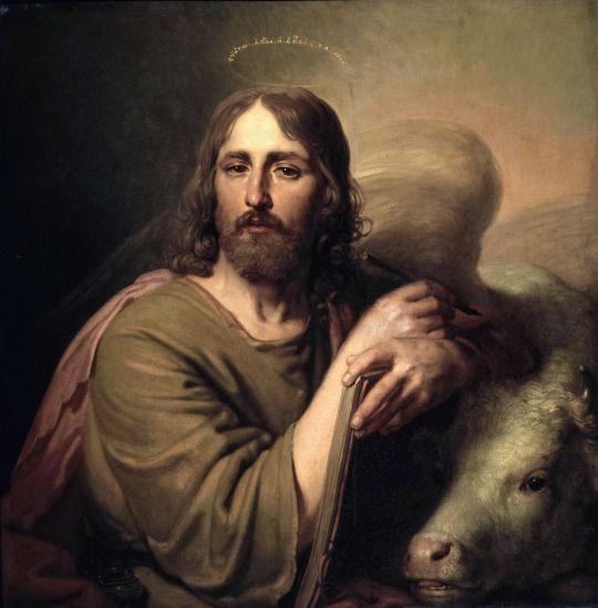 St Luke the Evangelist Icon by Vladimir Borovikovsky