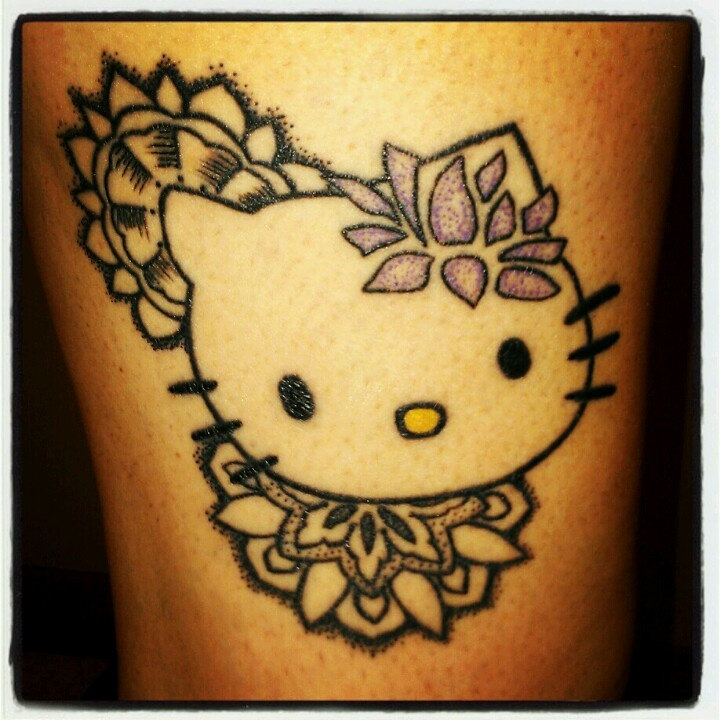 78 Best Images About Hello Kitty Tattoo On Pinterest