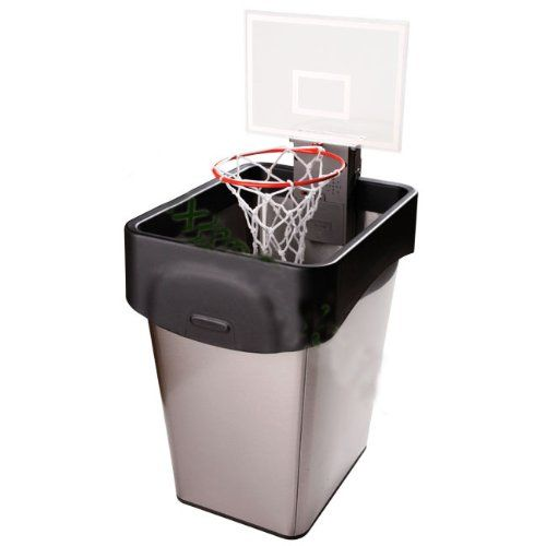 """Basketball Statistics Game: Converting fractions to decimals to percents (great to use during March Madness for a review), I wad up a paper """"ball.""""  I then put a small box or garbage can on a table at the front of my classroom.  Students take turns shooting the """"ball"""" into the """"basket.""""  We keep track of the shooting #fractions (shots made over shots attempted), and convert each to a #decimal and then a #percent. Read More: http://www.mathfilefoldergames.com/basketball-statistics/  #mathgame"""