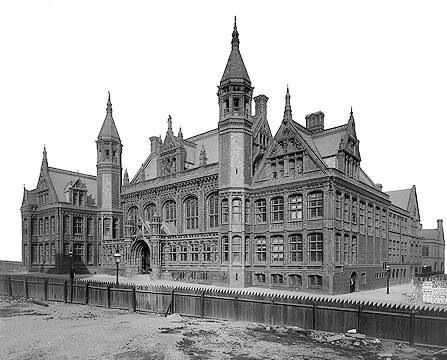 Victoria Law Courts In Birmingham when they were first built.