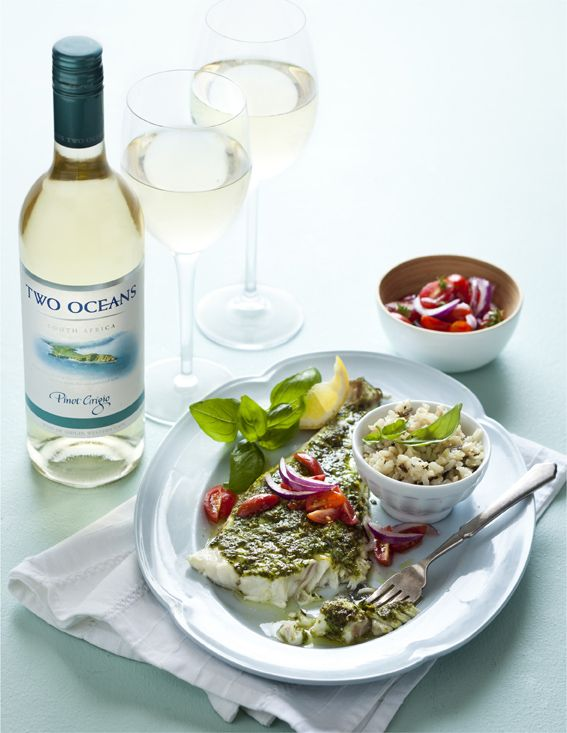 Justine Drake Suggests a Salsa Swing For The Two Oceans Pinot Grigio