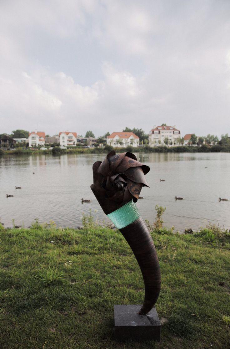 Sculpture Tom Smetsers @Art Nocturne Knokke 2015
