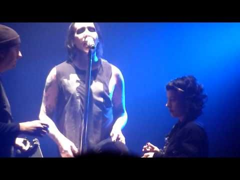 MARILYN MANSON - The Dope Show live London Brixton Academy 10-12-2009 - YouTube