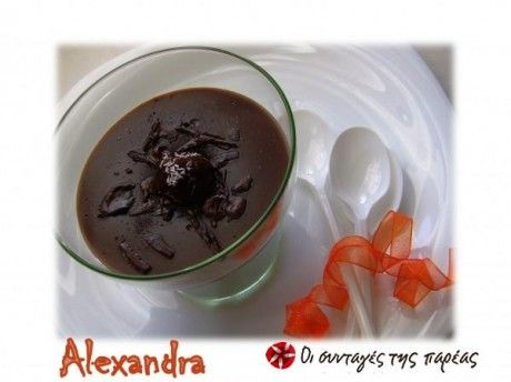 Floreal pudding #cooklikegreeks #chocolatepudding