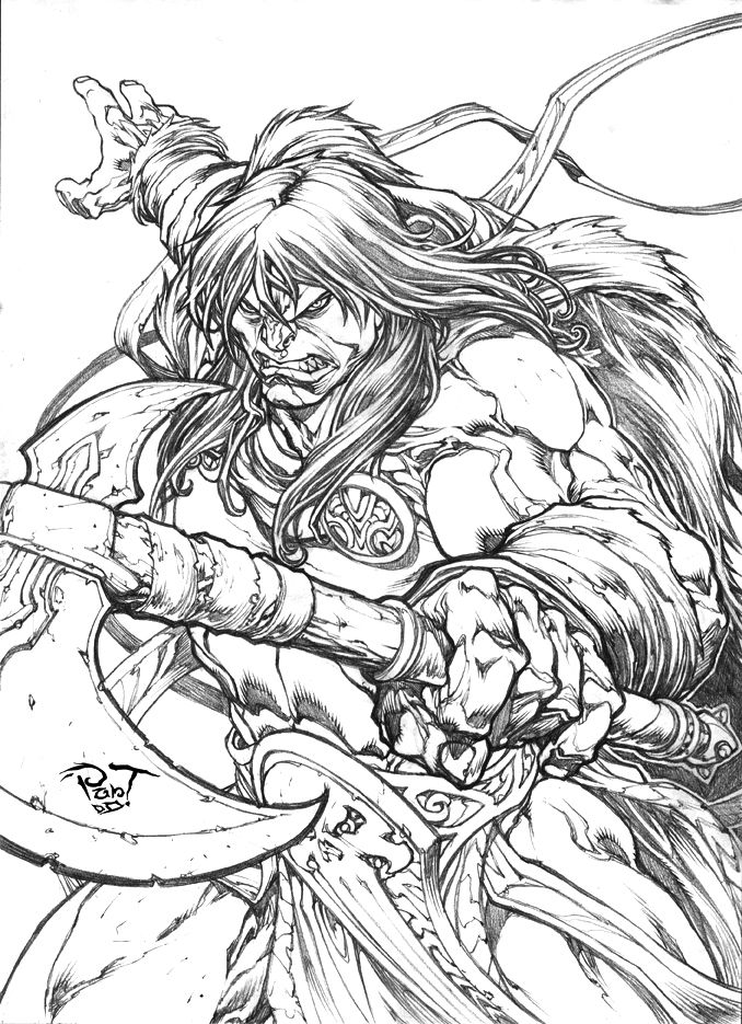 Conan Commission by ~pant on deviantART