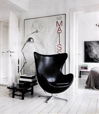 Moderne & retro hangstoel: the egg chair
