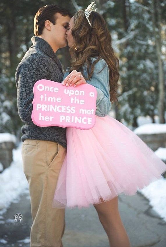 Tulle Skirts For Engagement Shoots | Pink Tulle Skirt by Morningside Designs MI