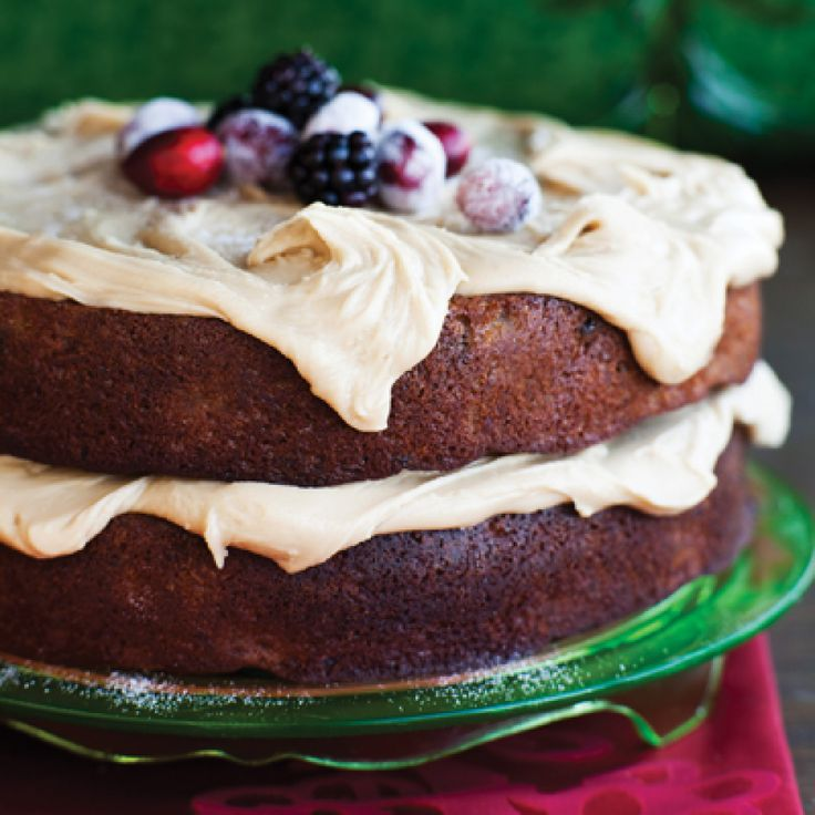 Kentucky Jam Cake This wonderful cake has pineapple in the batter as well as blackberry jam swirled in. A host of warm spices add a touch of exotic flavor. It's all topped with caramel icing.
