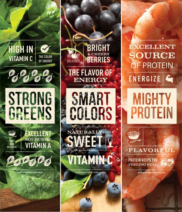 Panera: Flavor of Energy by Willoughby Design , via Behance