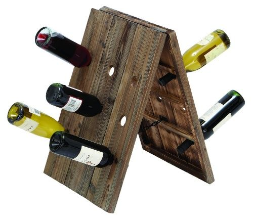 Rustic Wine Rack Stand.