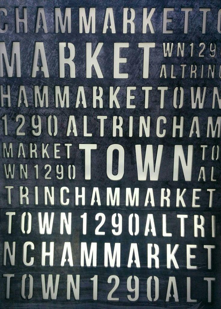Altrincham Market Manchester