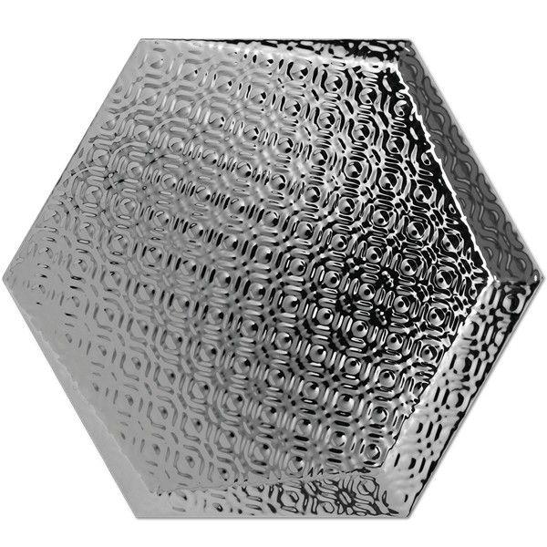 Kolekcja Hexagono Cuna - płytki ścienne Dec Cuna Plata 17x15