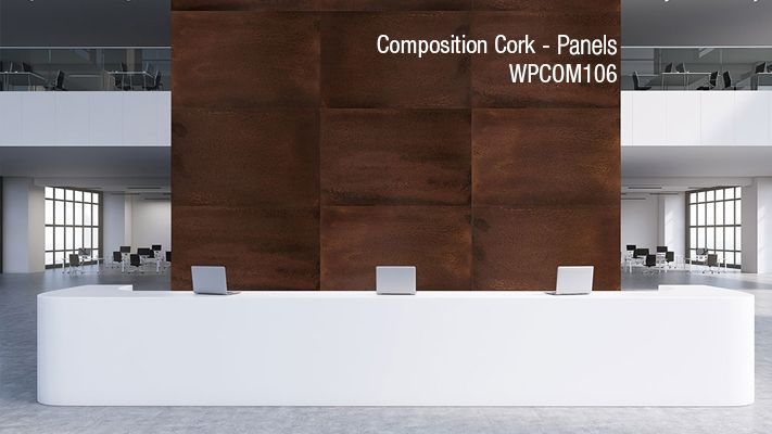 Architectural Systems Inc. - Composition Cork - Panels