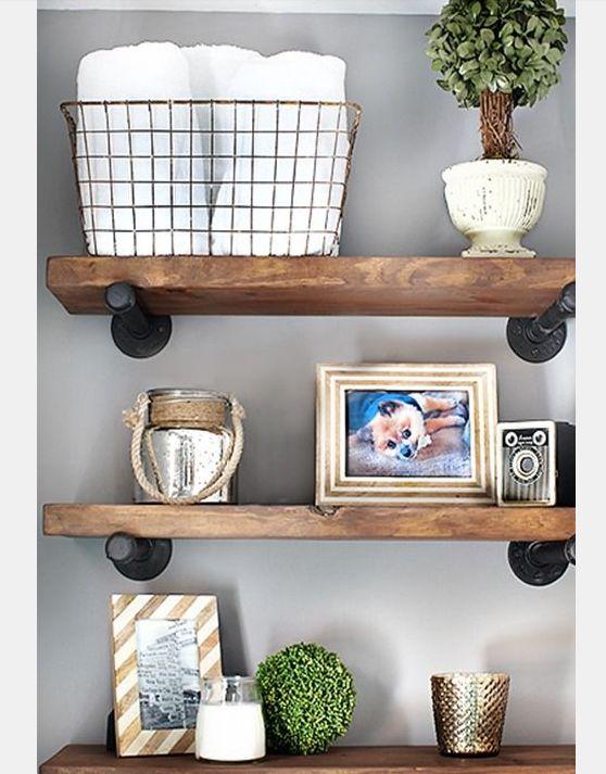 15 Unique Wall Shelf Decor Ideas Pinterest Home Shelves And