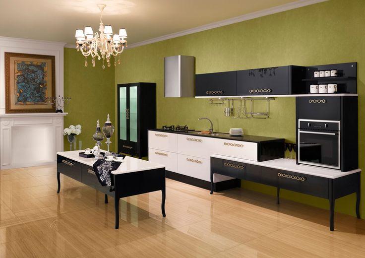 Cocina Negra con Blanco, estilo Japonés. Ecuéntrala en: Calle 109 Nº 14B–16 · Teléfono: +57 1 466 0015 · Bogotá, Colombia