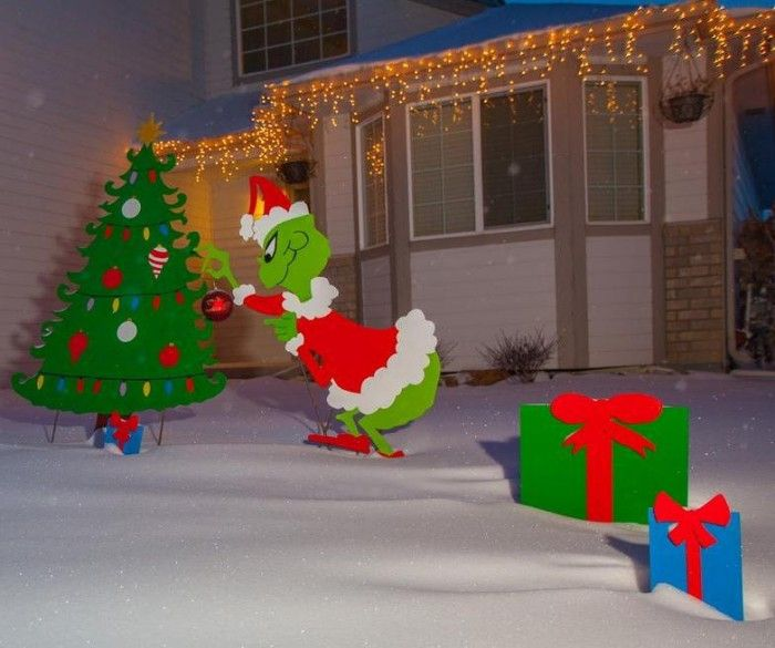 Outdoor Christmas Decorations, Outdoor Christmas And