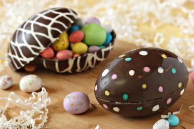 Hollow Chocolate Easter Eggs - (c) 2015 Elizabeth LaBau