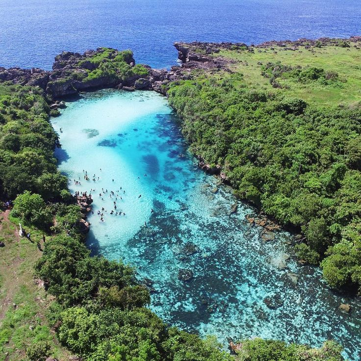 """""""Weekuri lagoon – it's a absolutely magic place. This lake is located near the sea and only separated by a rocky cliff. The sea water comes into the rock…"""""""