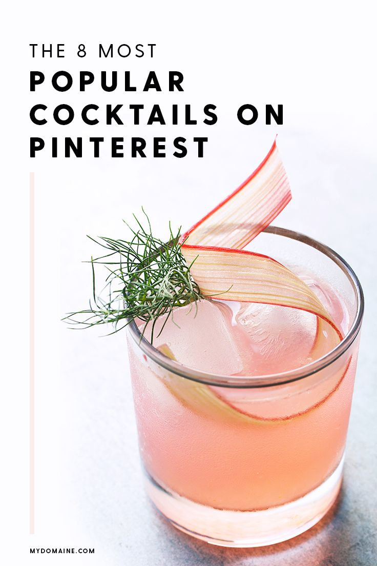 The most popular cocktails on Pinterest