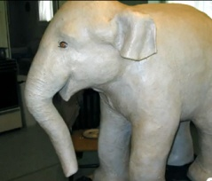 DIY: Paper Mache Elephant Tutorial Video