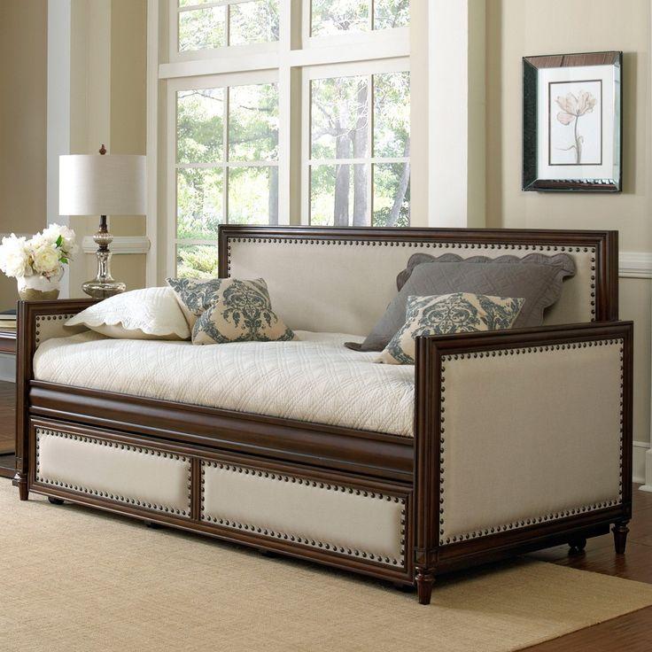Fashion Bed Groupu0027s Grandover Wood u0026 Upholstered