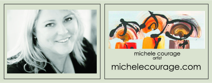 Artyblox is a range of designer affordable artworks individually created by Michele Courage.