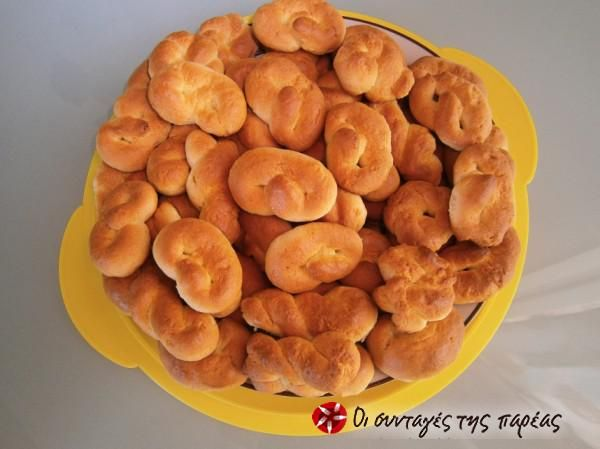 Fluffy orange koulourakia #cooklikegreeks #orangecookies