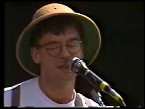 """Guadalcanal Diary - """"Michael Rockefeller"""" - D.C. Mall - 6/11/88 - More from the PETA Benefit 1988 with the B-52's, Washington Monument, tribal drumming, tons o' people and more. """"Michael R."""" was one of Guadalcanal's earliest songs, released on the EOD (local Atlanta) label and re-recorded for their second Elektra Records release, """"Jamboree""""."""