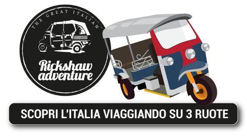 l'avete mai provata una vacanza a bordo di un #apecar ? Con #TheGreatItalianRickshawAdventure scoprite qui come fare ->  http://www.notiziedigusto.com/2015/07/10/the-great-italian-rickshaw-adventure-litalia-visitata-in-slow-time/