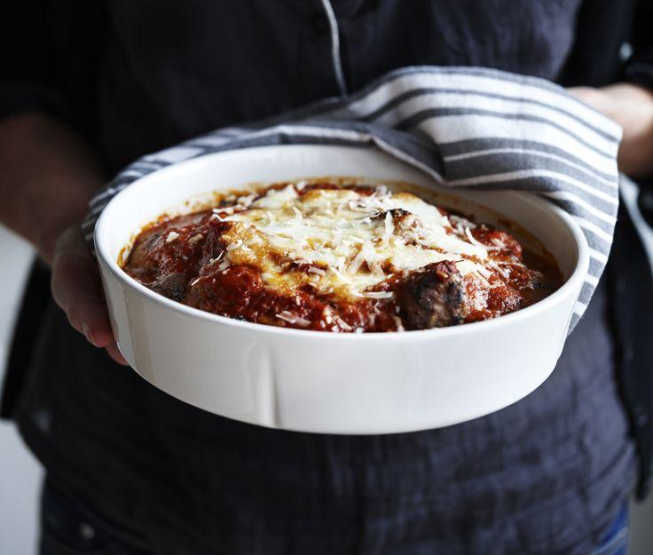 Nem og lækker aftensmad er altid i høj kurs, og denne italienske ret med lækre og saftige italienske kødboller er et sikkert smagshit.