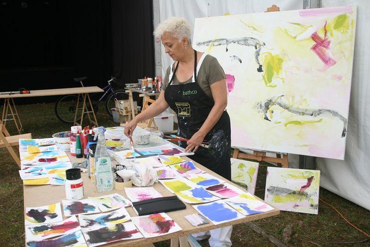 Dora Piñon . Pintura . simposio internacional de artistas. Sianoja 2017. Manolo Saenz Messia  #artist   #art #paint #painting #color #colour  #arte #artistas #cantabria #Noja #painting #artist #artista #arte #Palacio Albaicín #Simposio #artistas #Internacional #cuadro #paint