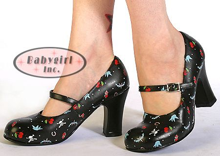 Rockabilly Mary Janes from T.U.K. Shoes. I have gone through 3 pairs of these! I love them!