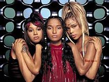 "TLC ( 1992) -The retro, soul, funk all girl band of the 90's that captured my heart with the song ""Unpretty"".These stunning women so unlike others stand up to the pressure to fit in, to be beautiful & to use their music as a tool to show the world that it isnt always vital to go ""chasing after waterfalls"" as another one of their songs go but rather to stick to the ""rivers & lakes that we are used to""-( true riches)."